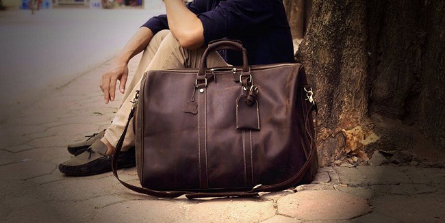 How to find a leather bag