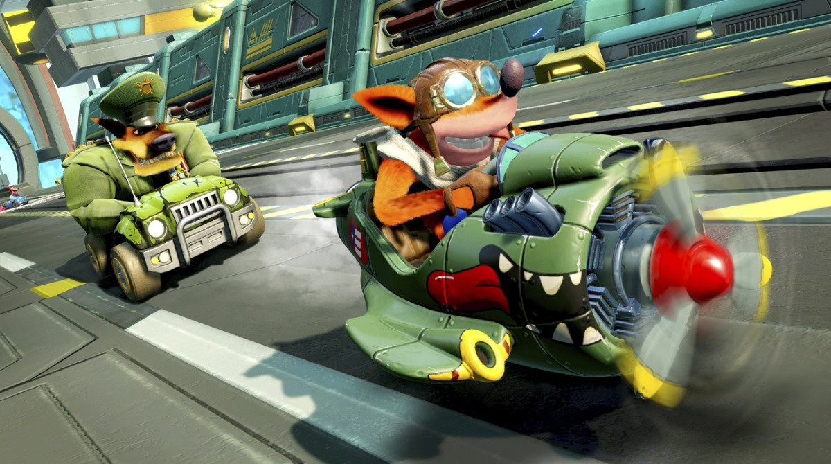 Crash Team Racing Nitro-Fueled teams up with Call of Duty Endowment